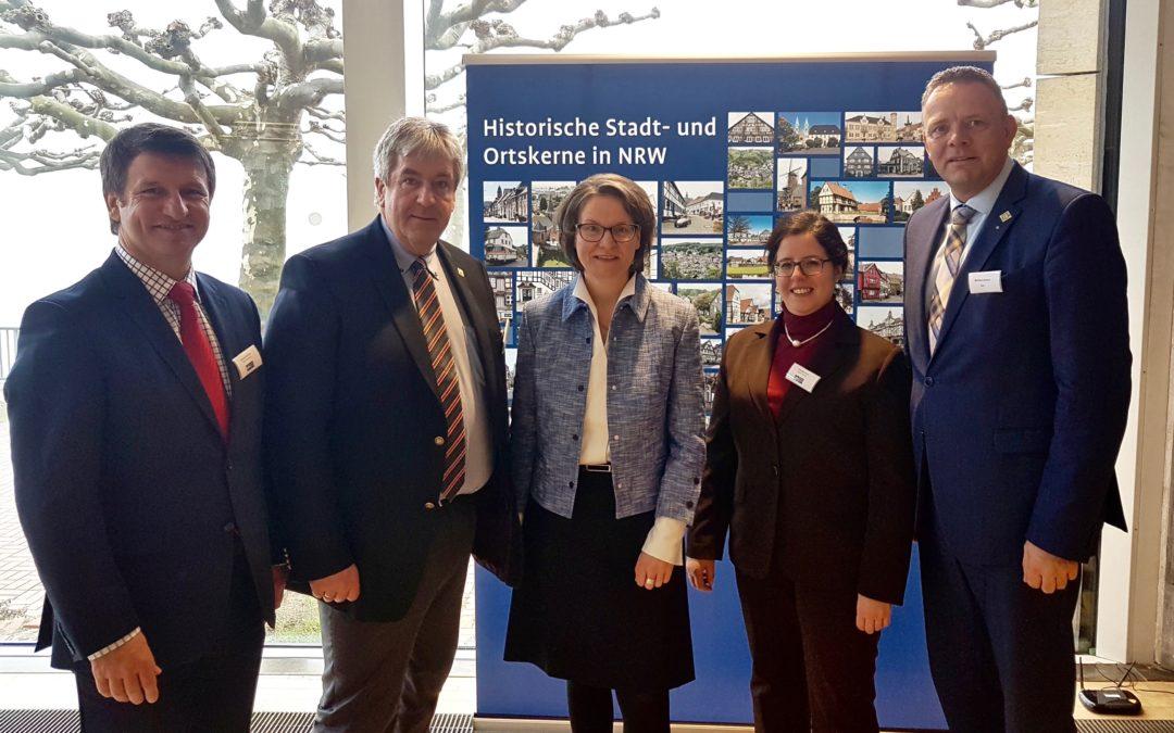 Arbeitsgemeinschaft Historischer Stadt- und Ortskerne sendet starkes Signal für die Zukunft