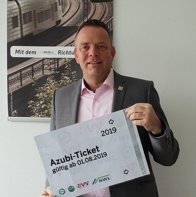 Weg frei für das Azubi-Ticket in ganz NRW