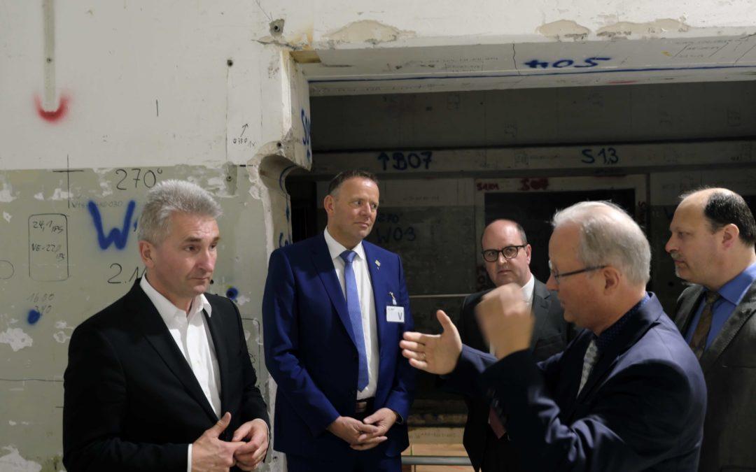 """""""Logistikzentrum für das Endlager Konrad"""" in Würgassen"""