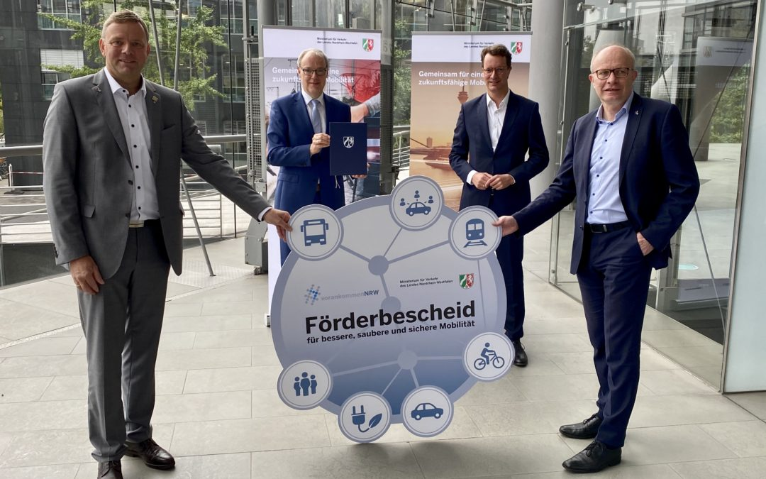 Mobil sein ohne Auto: neues On-demand-Ride-Pooling in Höxter